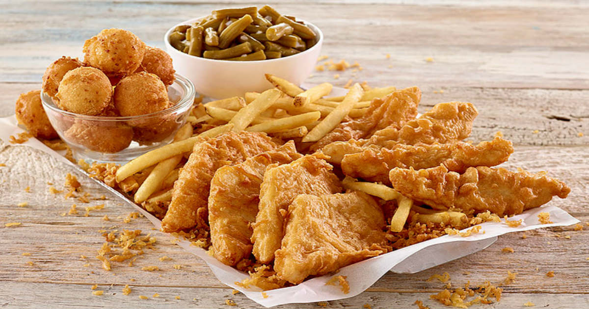 image relating to Long John Silver's Printable Coupons named $5.00 Off at Very long John Silvers - Printable Discount codes