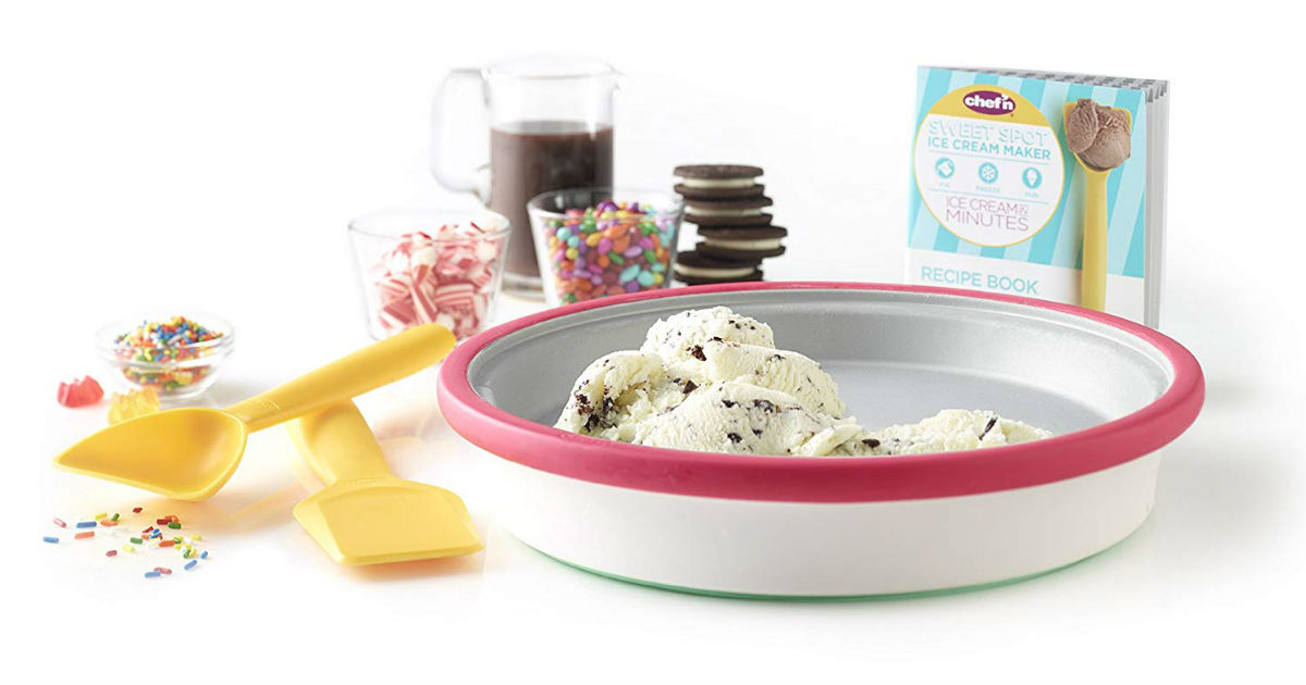 Chef'n Sweet Spot Instant Ice Cream Maker ONLY $29.99 (Reg. $50)
