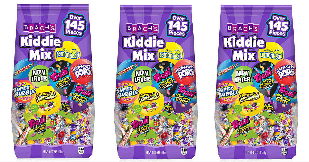 Brach's Kiddie Mix Candy 48-Ounce Bag Only $7.12 on Amazon