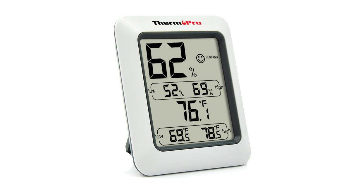 ThermoPro Digital Hygromerter ONLY $9.34 Shipped (Reg. $20)