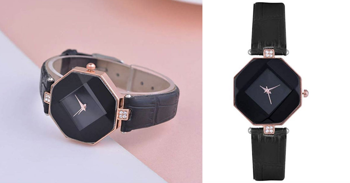 Rhinestone Dial Wrist Watch ONLY $7.39 Shipped