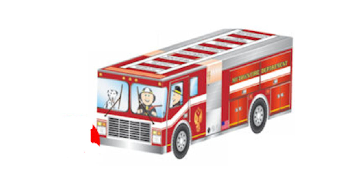 FREE Kids Firetruck Foldup Act...