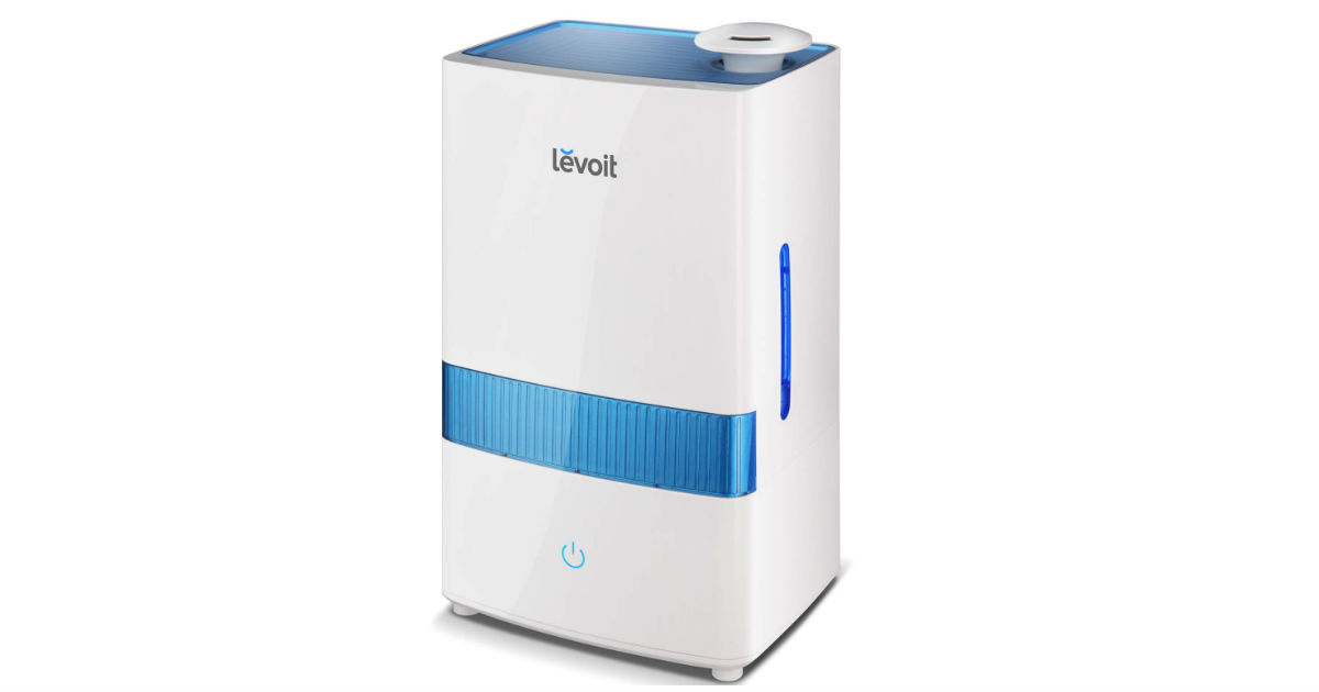 Levoit Cool Mist Humidifier ONLY $30.59 (Reg. $60)