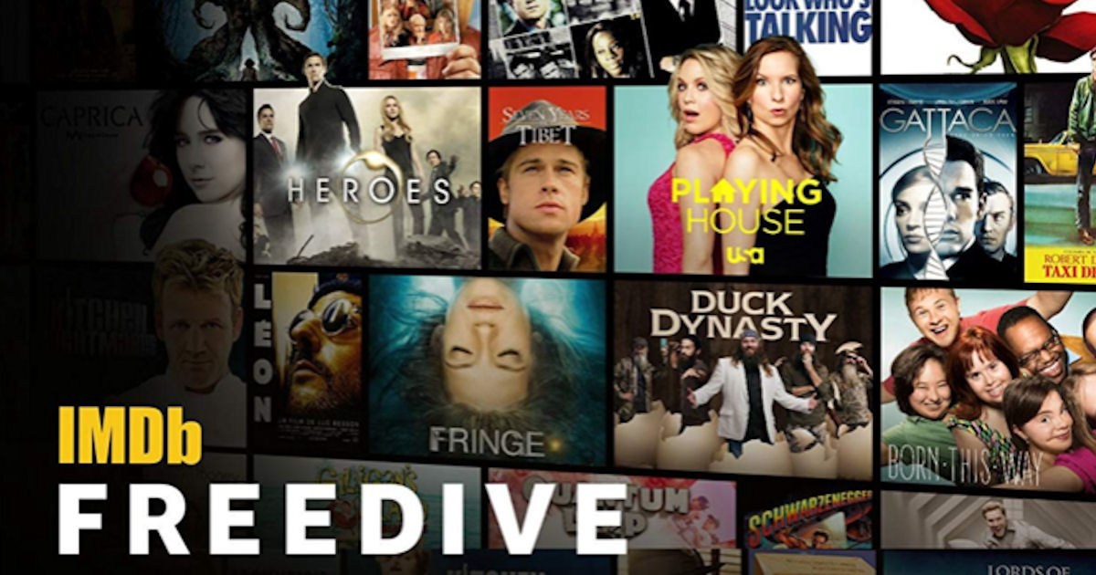 IMDb Freedive - FREE Movie & TV Streaming