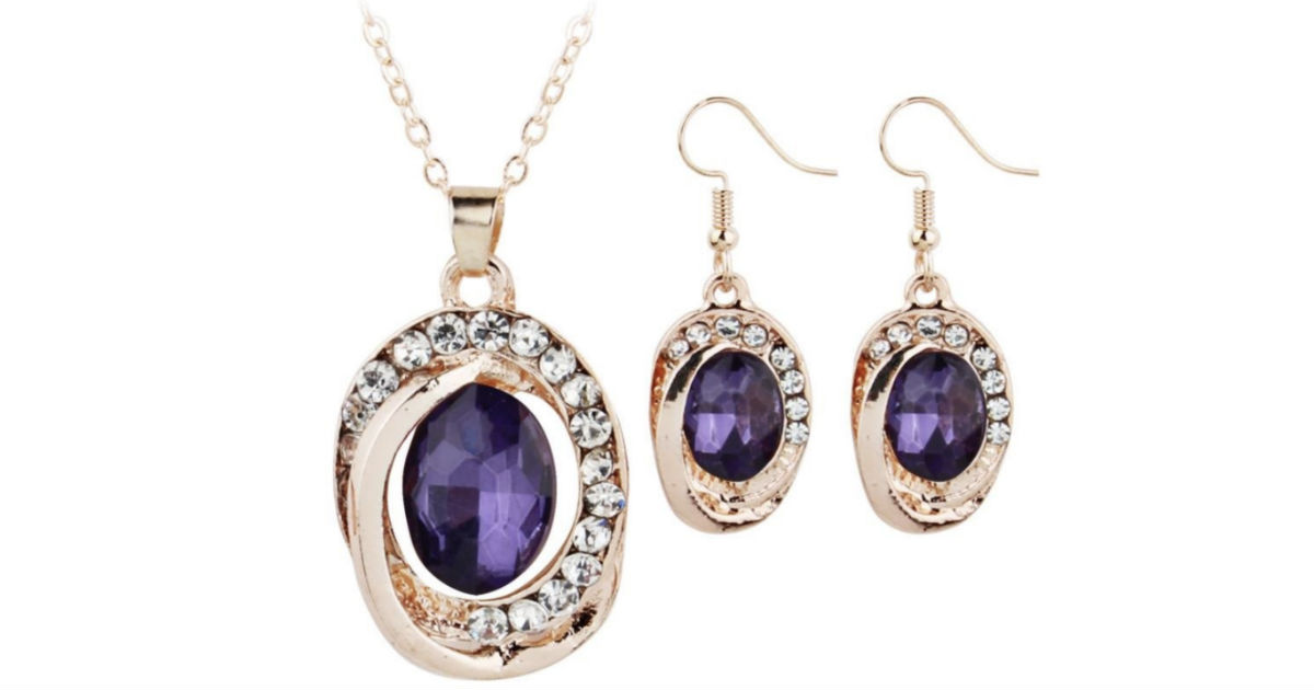 Women's Necklace Pendant Set ONLY $4 Shipped