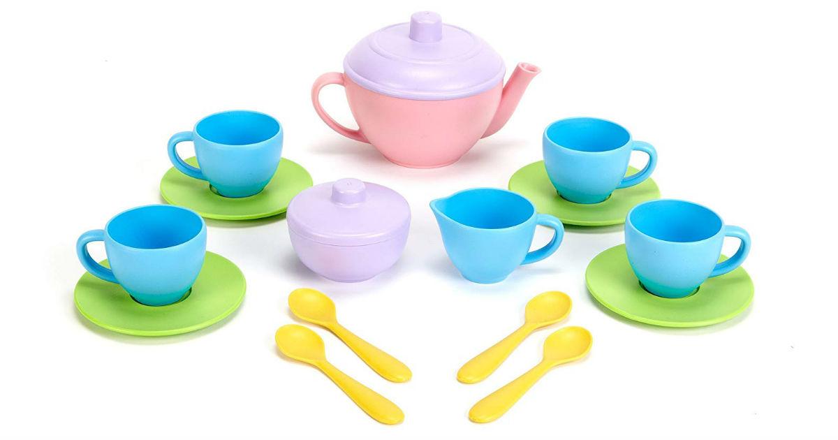 Lightning Deal: Save 58% on Green Toys Tea Set on Amazon