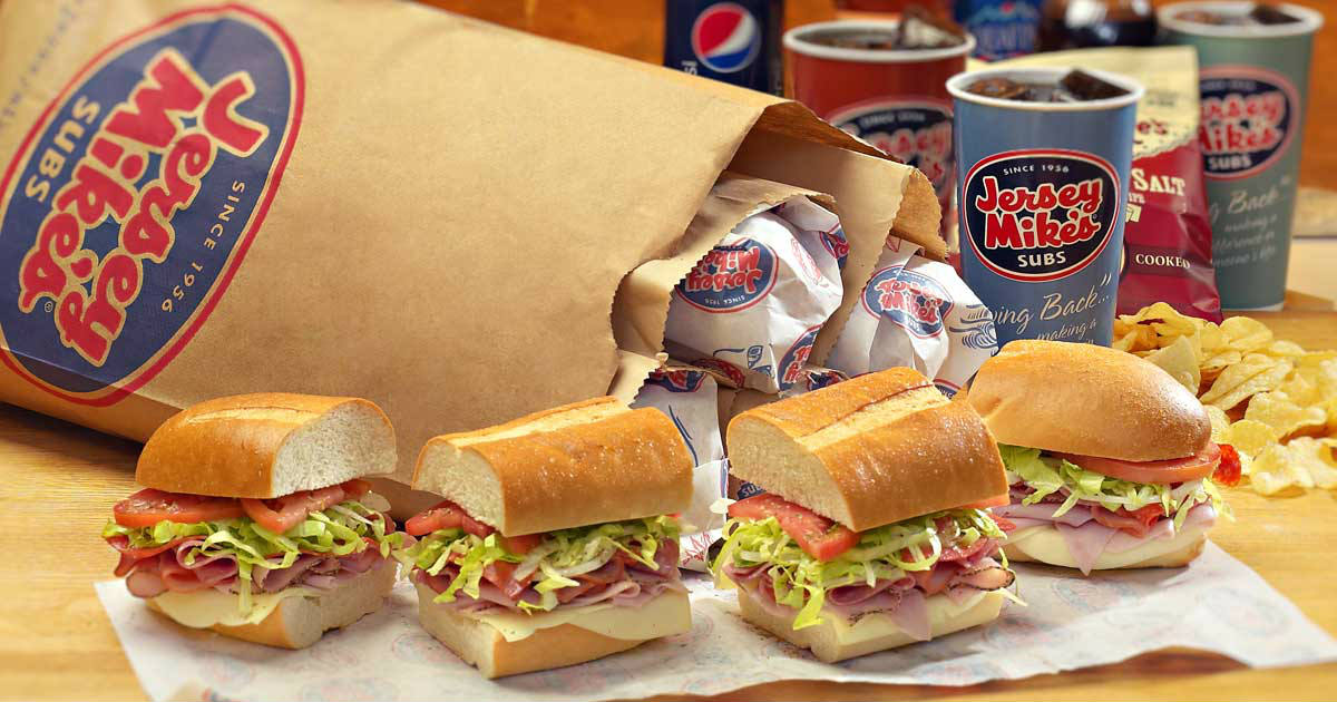 photograph relating to Jersey Mike's Printable Coupon named Buy $10 Off at Jersey Mikes - Printable Discount coupons