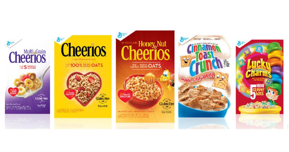 General Mills Cereal Only $1.24 at CVS
