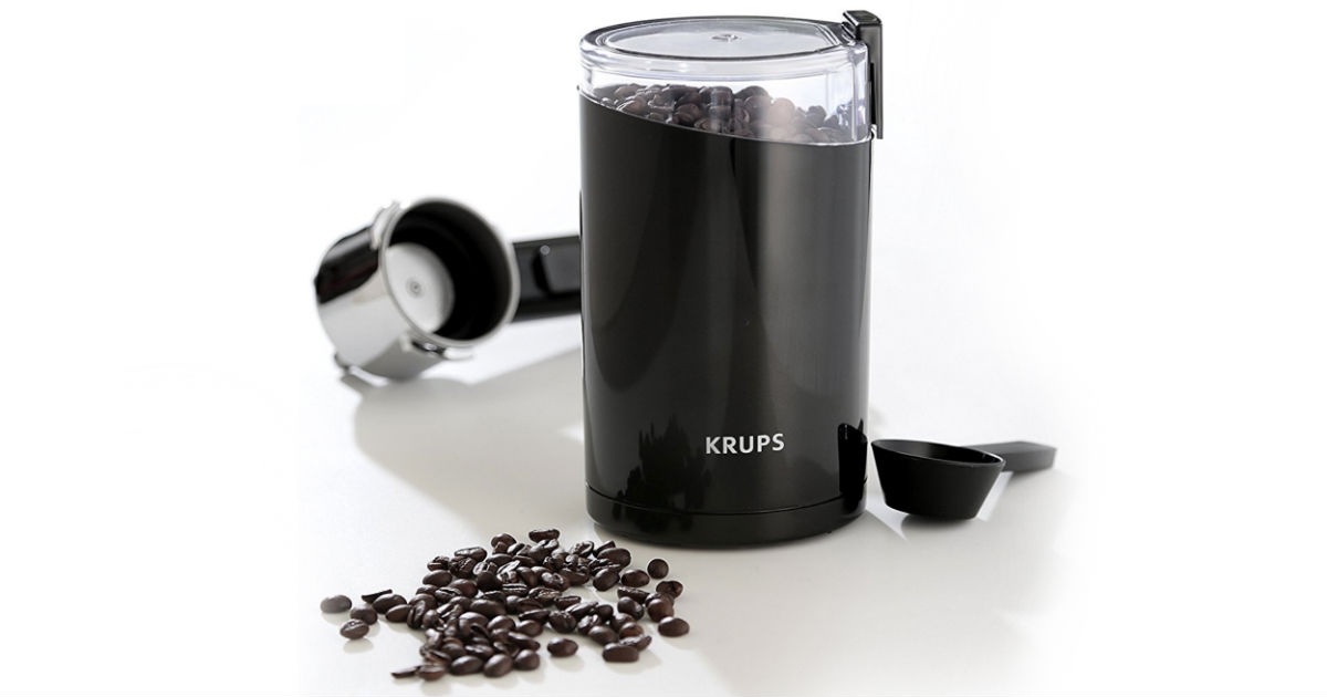 Krups Electric Spice and Coffee Grinder ONLY $13.90 (Reg $30)