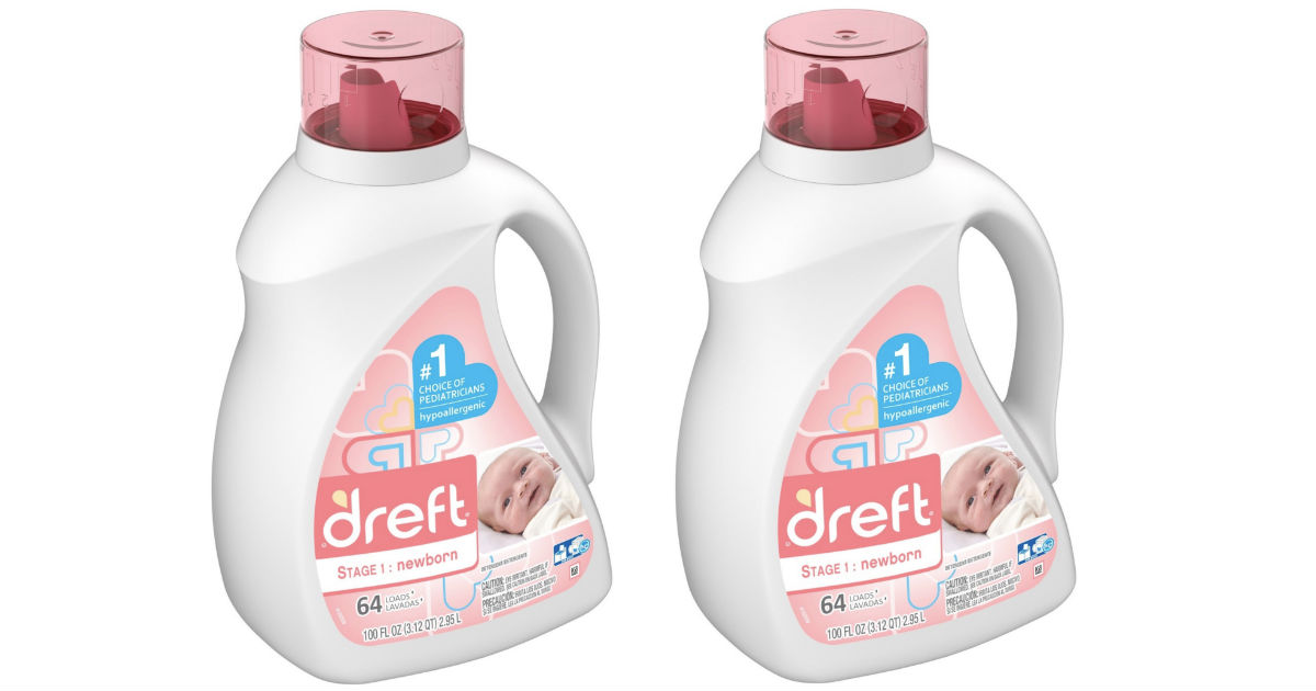 Dreft Laundry Detergent ONLY $10.29 After Target Gift Card