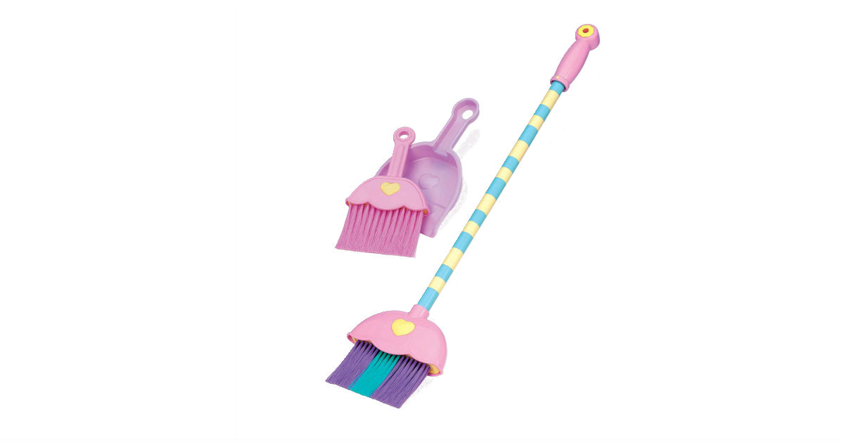 Mighty Tidy Sweeping Set ONY $6.47 (Reg. $16.25)