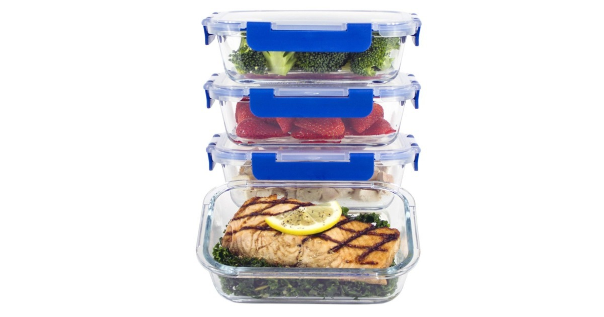 Meal Prep Containers ONLY $21.24 Shipped (Reg. $36)