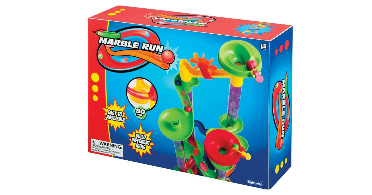 Toysmith 80-Piece Marble Run ONLY $10.56 Shipped (Reg. $19)