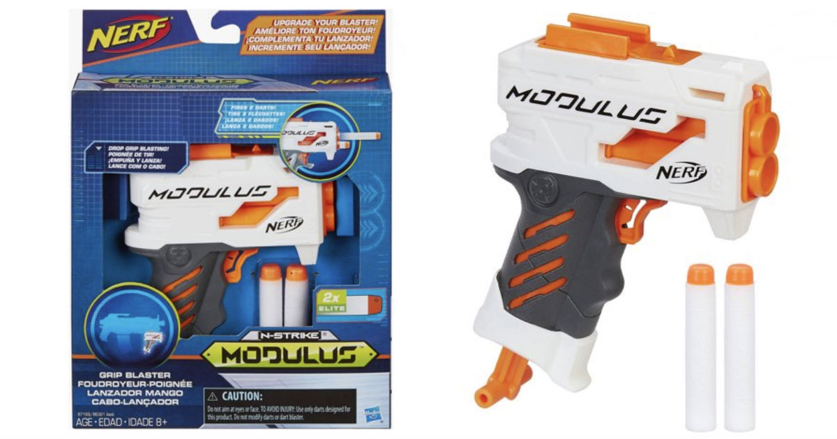 Nerf Modulus Grip Blaster ONLY $3.88 (Reg $7.97) at Walmart