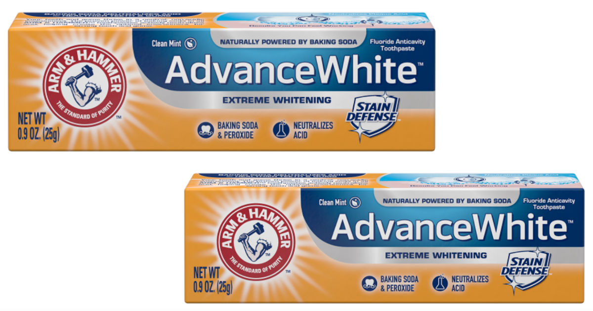 photograph regarding Arm and Hammer Printable Coupons known as Arm Hammer Toothpaste Simply just $1.99 at Walgreens - Printable