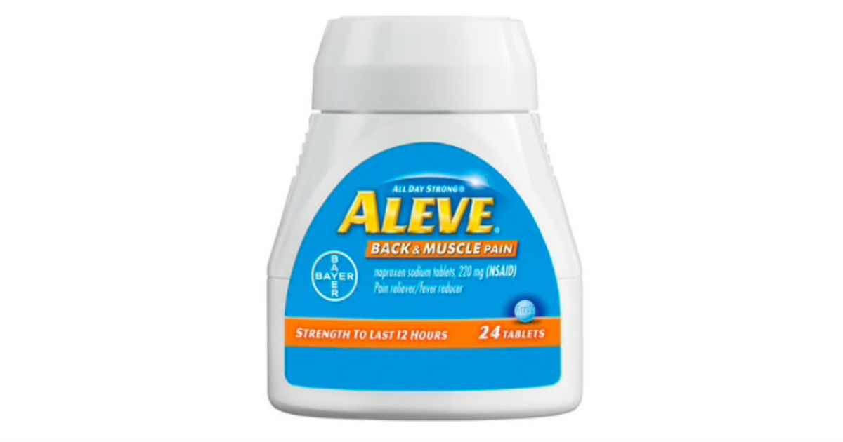 Aleve Back & Muscle ONLY $0.76 at Walmart (Reg. $3.76)