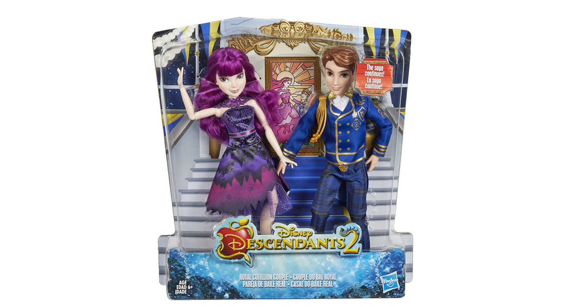 Disney Descendants Royal Cotillion Couple ONLY $8.37 (Reg. $35)
