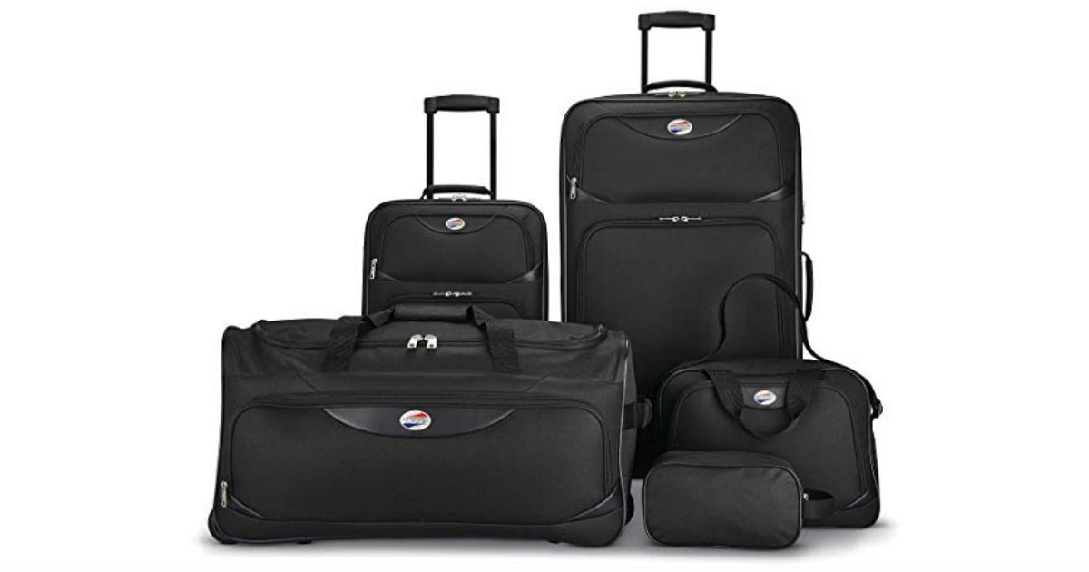American Tourister 5-Piece Luggage Set ONLY $64.99 (Reg. $200)