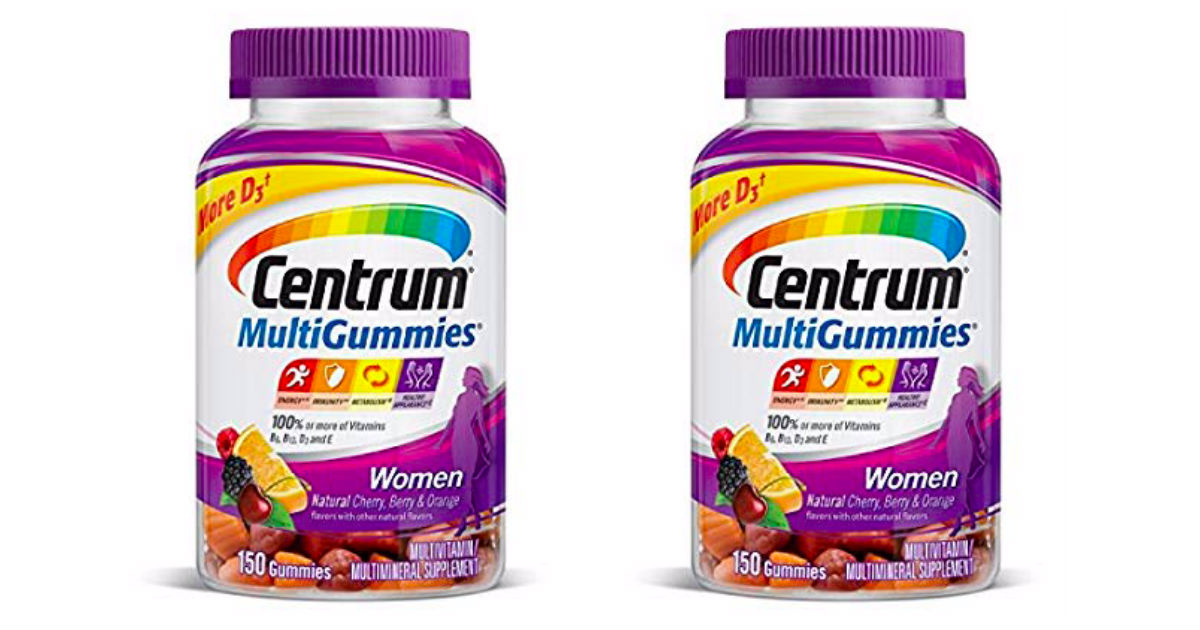 Centrum MultiGummies Only $3.7...