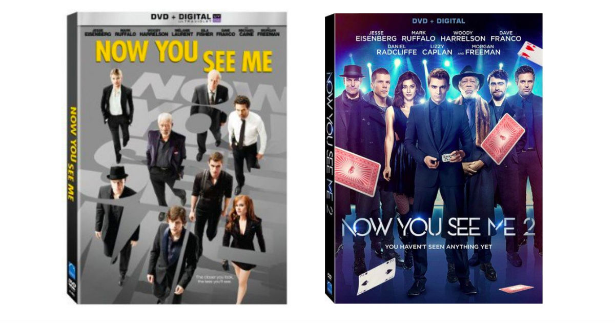 Now You See Me on DVD ONLY $3.99 on Amazon