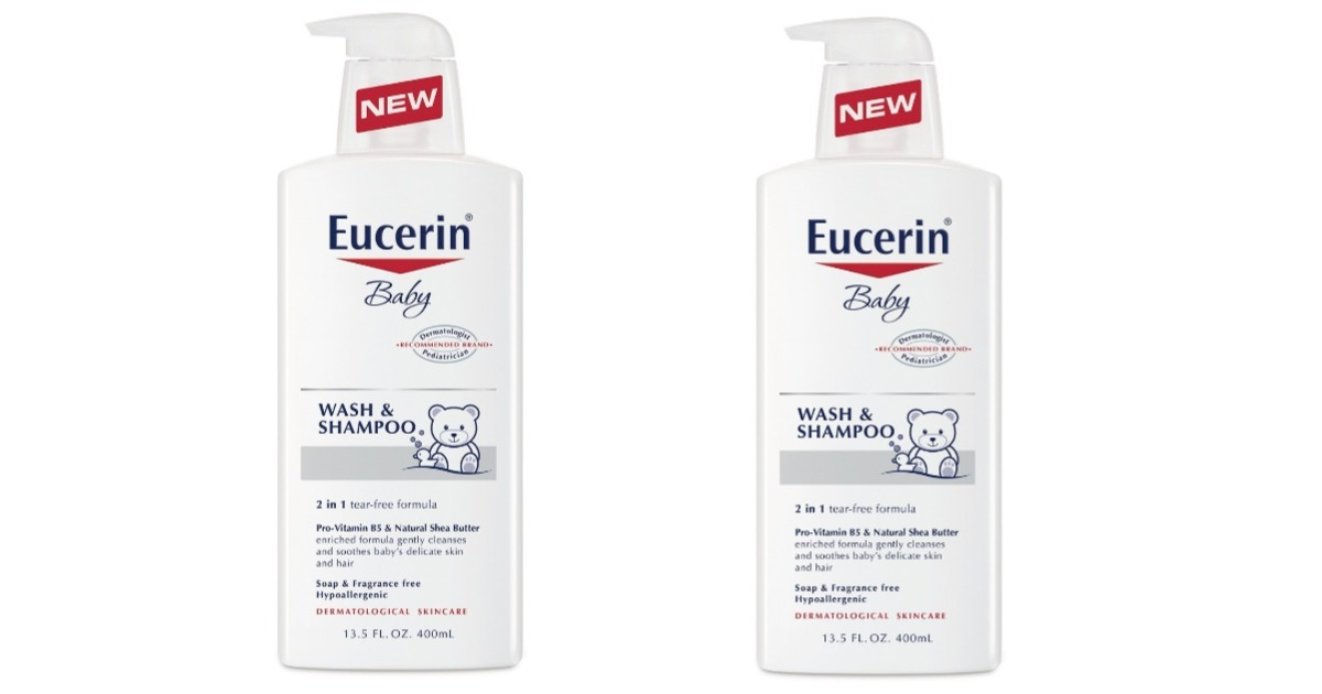 photograph relating to Eucerin Printable Coupon named Eucerin Child Clean Shampoo Simply just $3.07 at Concentration (Reg. $6.74