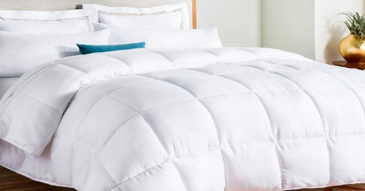 Linenspa White Down Comforter ONLY $29.99 (Reg. $80)
