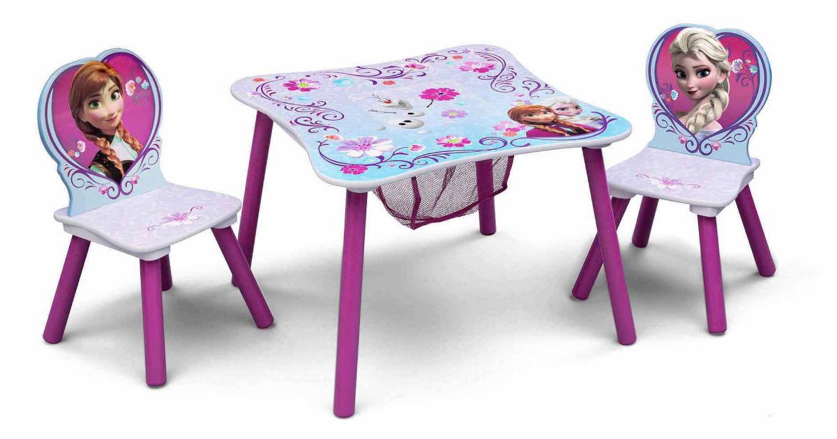Frozen Toddler Storage Table Set ONLY $25 (Reg $35)