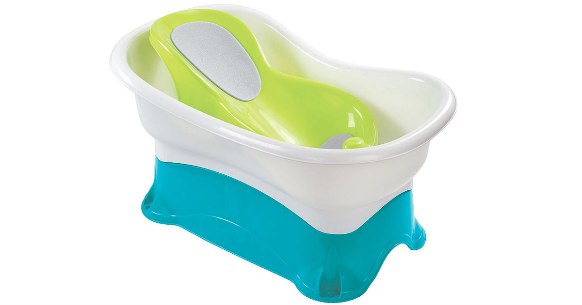 Summer Infant Comfort Height Bathing Tub ONLY $21 (Reg $30)