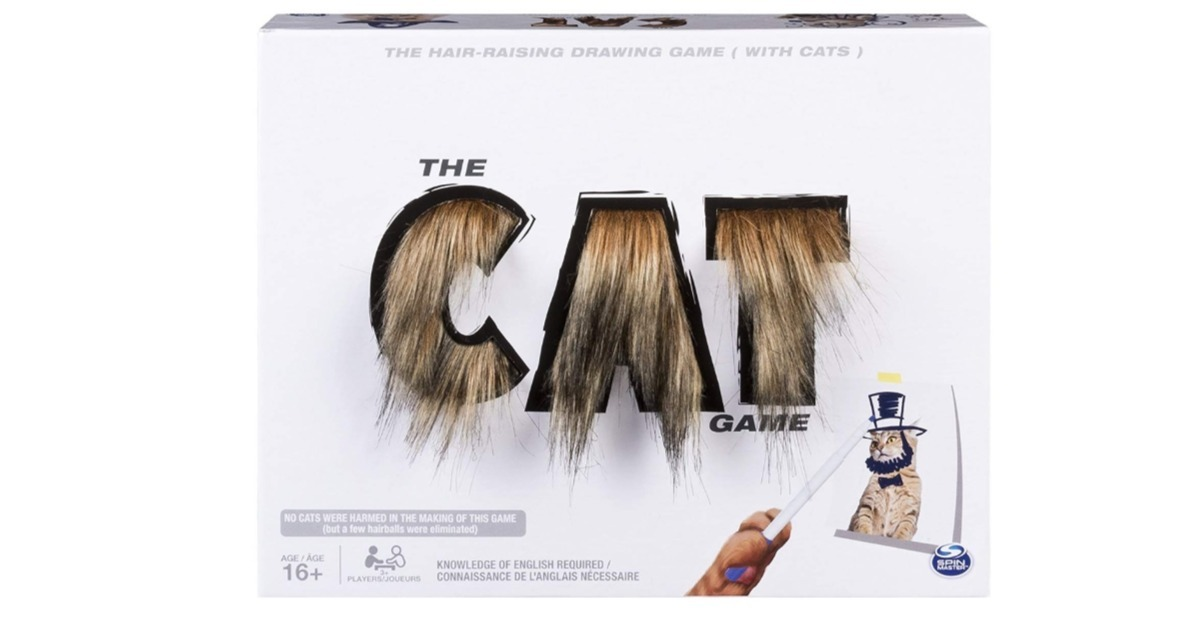 The Cat Game ONLY $5.38 on Amazon (Reg. $20)