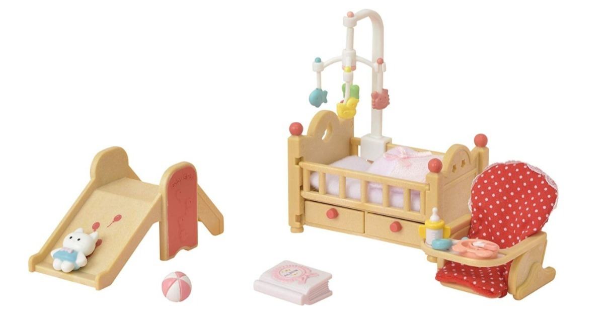 Calico Critters Baby Nursery Set ONLY $7.76 (Reg. $20)