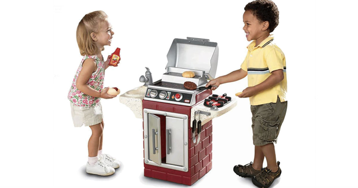 Little Tikes Backyard Barbecue Get Out 'n' Grill Set ONLY $25.99