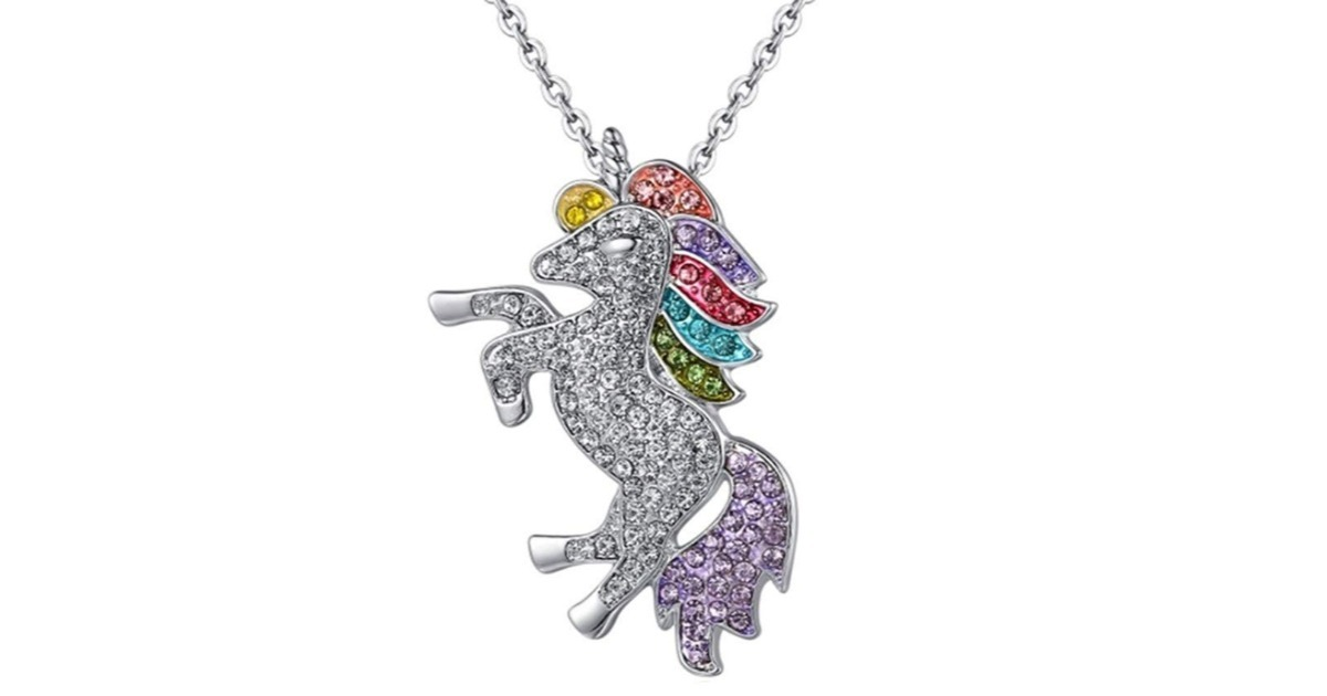 Unicorn Necklace on Amazon