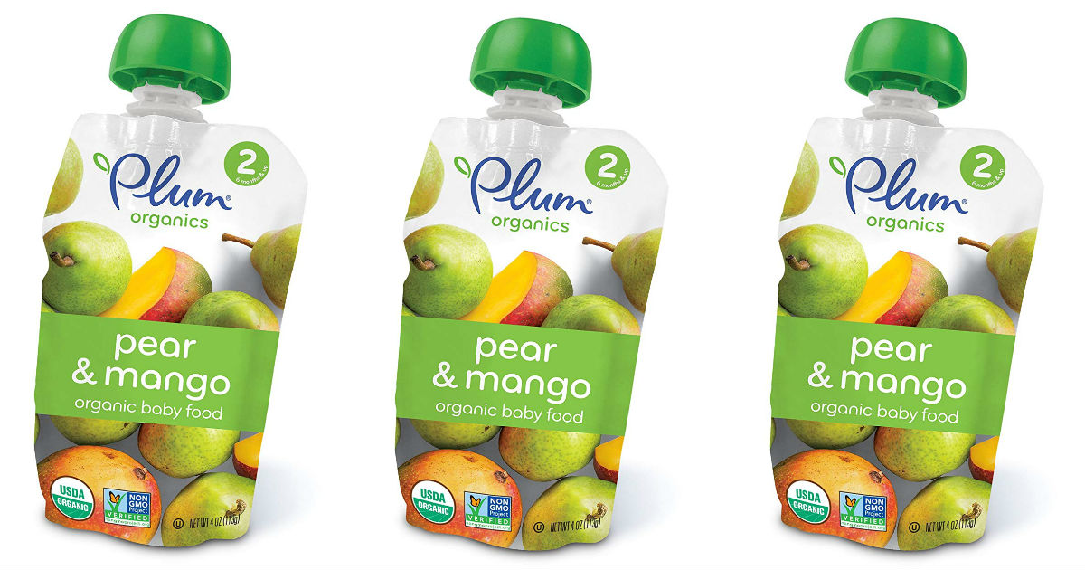 Plum Organics Pouches 12-Pk ONLY $8.90 Shipped at Amazon