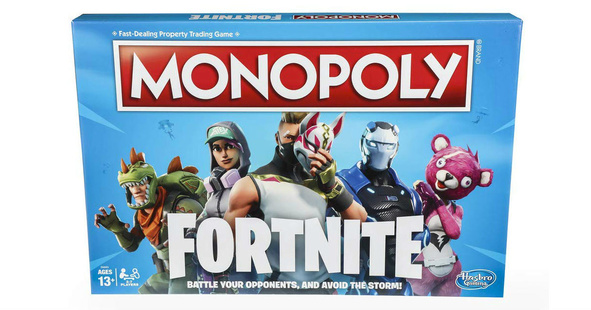 Monopoly Fortnite Board Game Only $9.99 on Amazon (Reg $20)