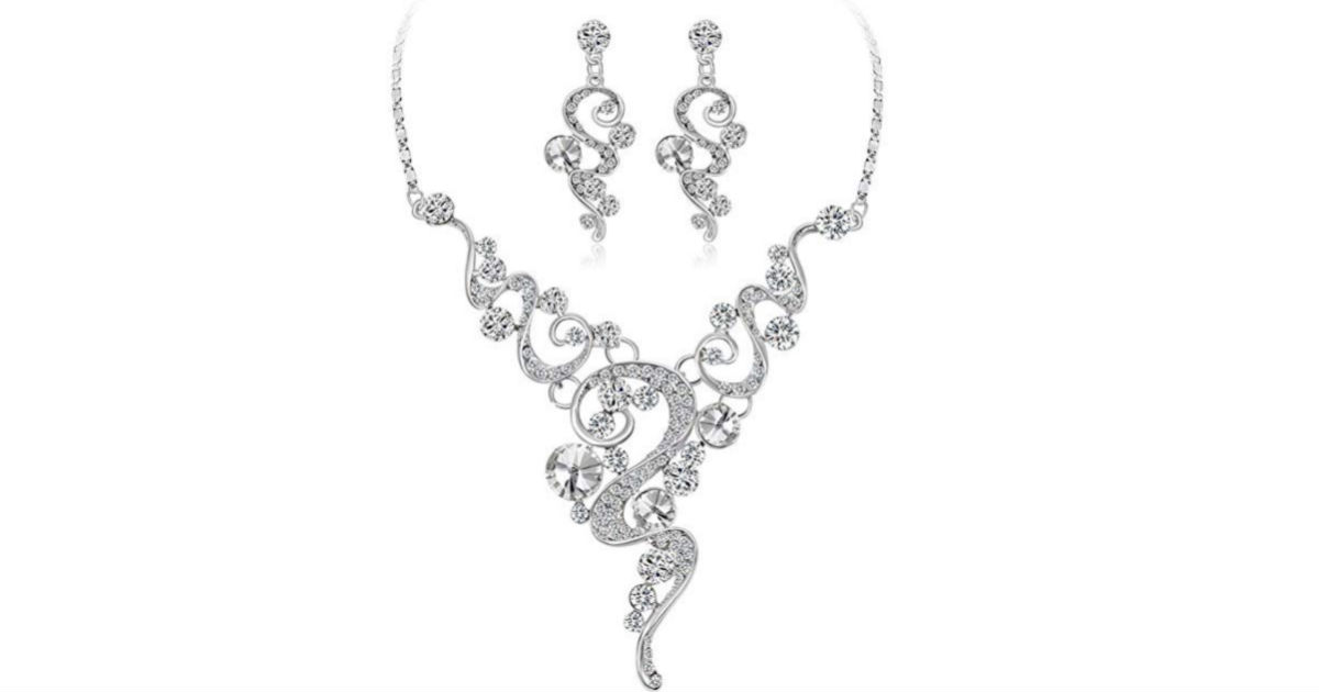 Wedding Bride Jewelry Gift Set ONLY $4.99 Shipped