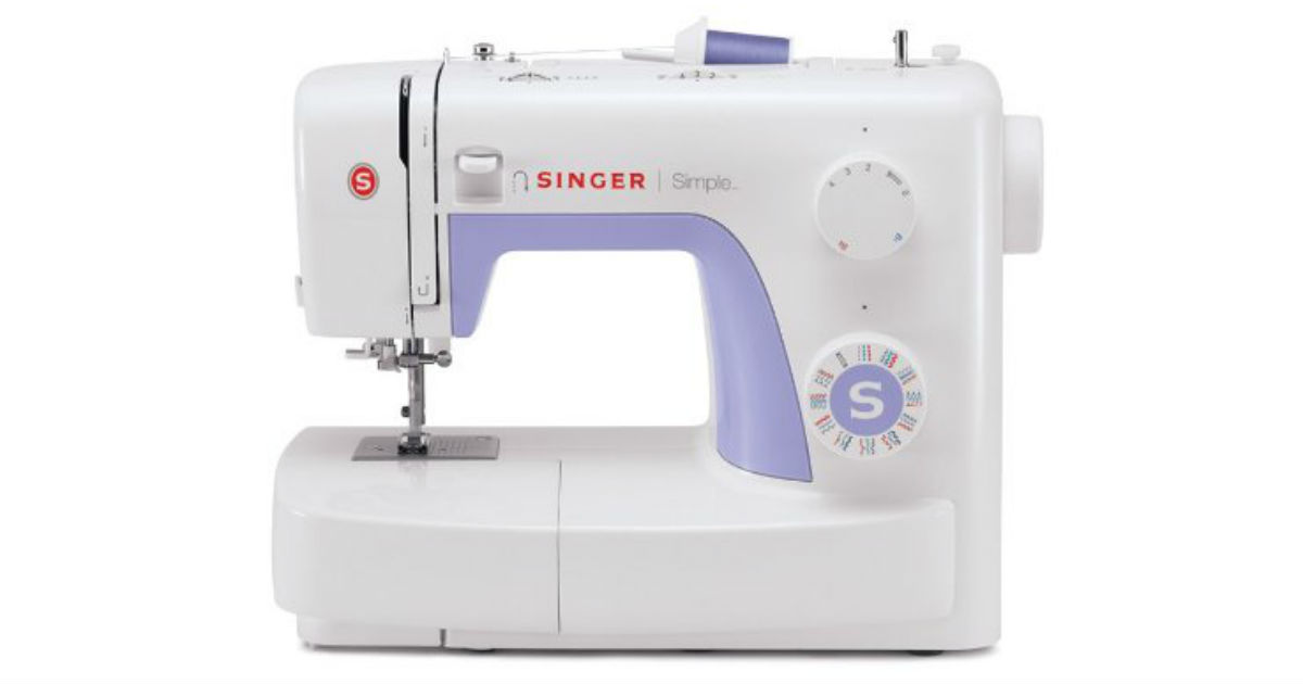 Singer Simple Portable Sewing Machine ONLY $93.09 (Reg. $200)