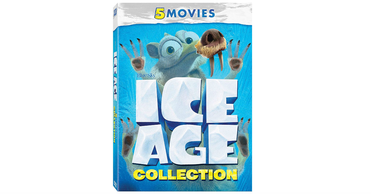 Ice Age 5-Movie Collection ONLY $19.14 (Reg. $40)
