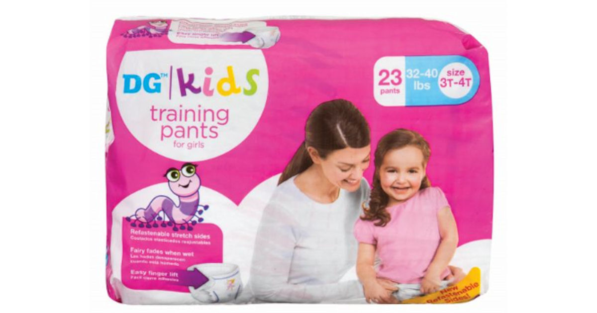 FREE Toddler Training Pants...