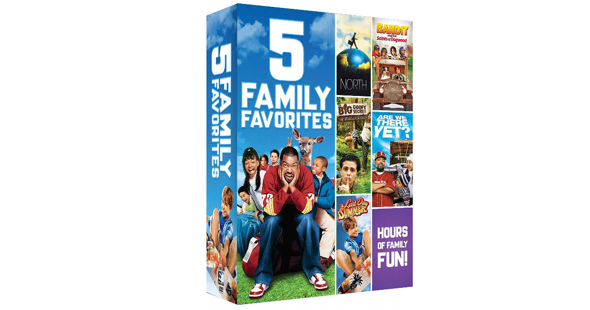 Family Favorites 5 Movie Bundle ONLY $8.27 on Amazon