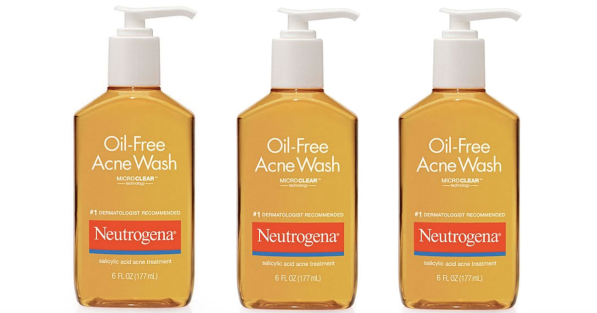 Neutrogena Oil-Free Acne Wash ONLY $1.79 at Target