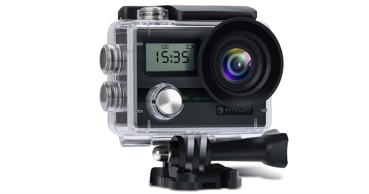 Fitfort Action Camera ONLY $35.19 Shipped (Reg. $66)
