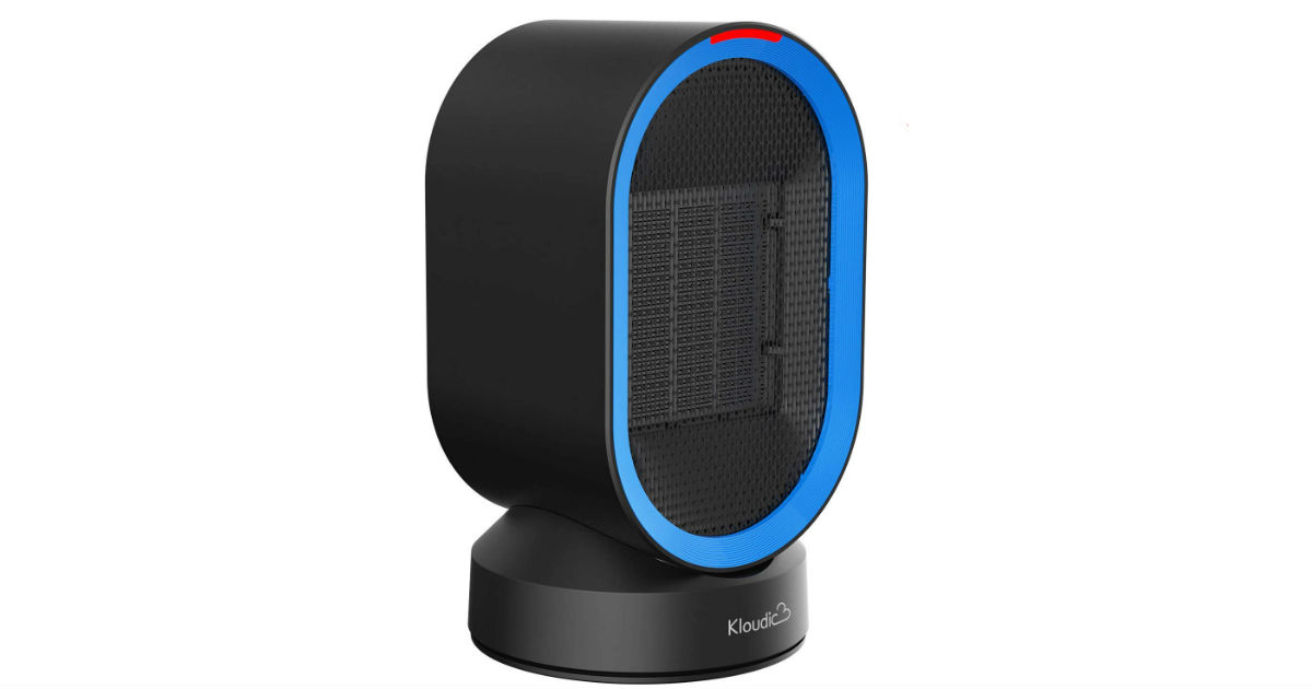 Ceramic Portable Space Heater ONLY $17.49 on Amazon