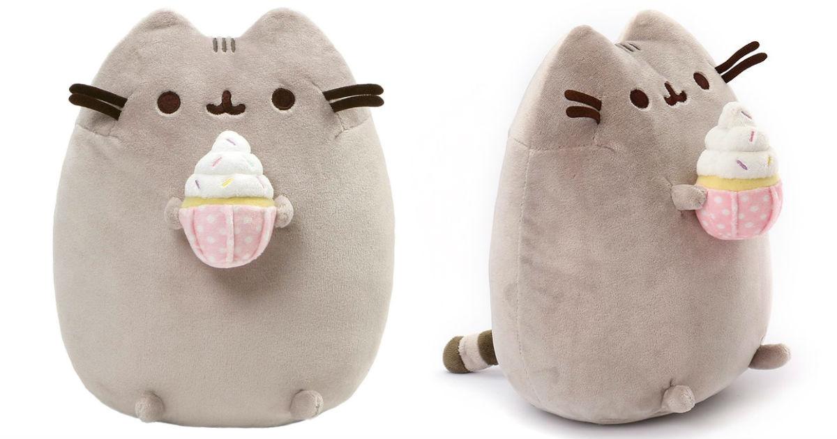 Gund Pusheen Snackables Cat Plush ONLY $15 (Reg. $25)