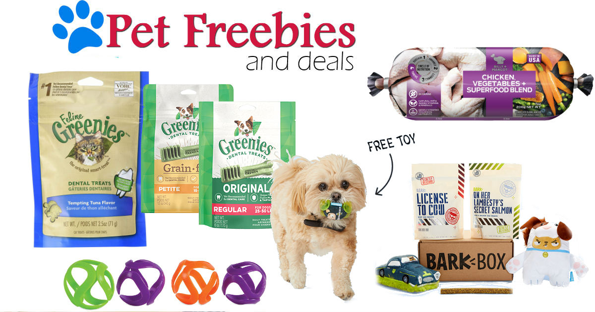 Dog & Cat Freebies for 2019