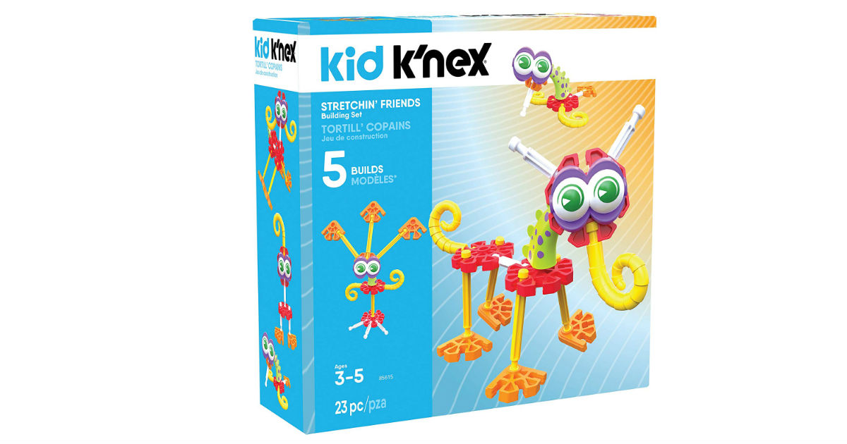 K'NEX Kid Stretchin' Friends ONLY $7.76 (Reg. $20)