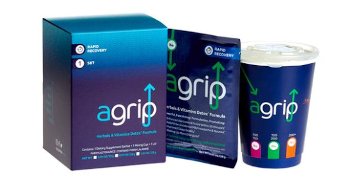 FREE Agrip Rapid Recovery Samp...