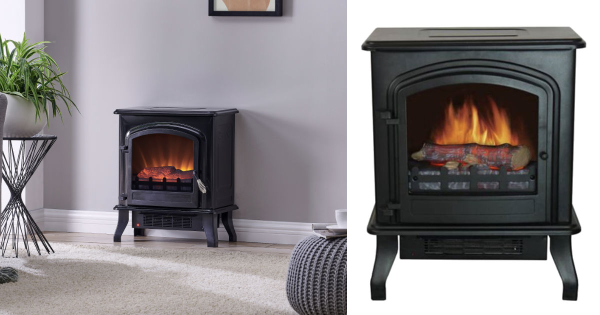 Bold Flame Electric Space Heater ONLY $49.99 Shipped