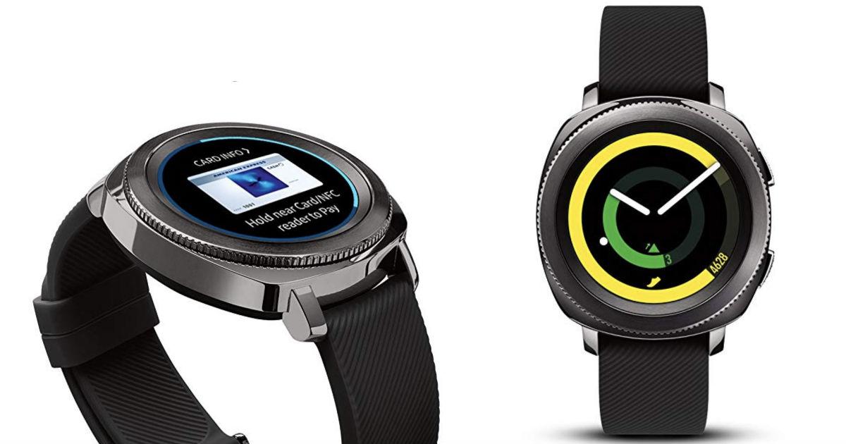 Samsung Gear Sport Smartwatch.
