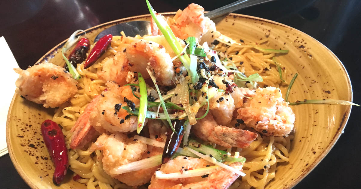 photo about Pf Changs Printable Coupon called Absolutely free Very long Daily life Noodles Prawns at P.F. Changs - Printable