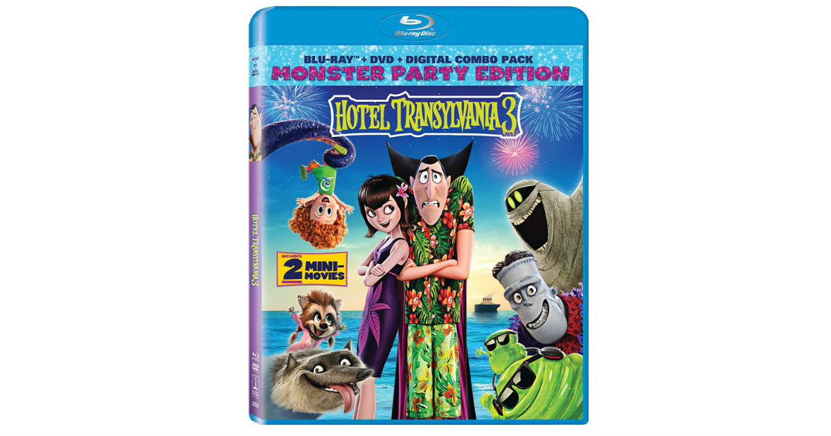Hotel Transylvania 3 on Blu-ray ONLY $15.99 Shipped (Reg. $39)
